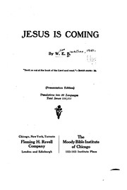 Cover of: Jesus is Coming |