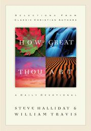 Cover of: How great Thou art