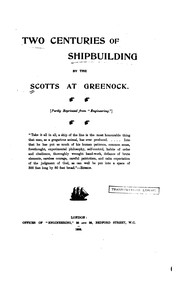 Cover of: Two Centuries of Shipbuilding by the Scotts at Greenock: (Partly Reprinted from Engineering.) |