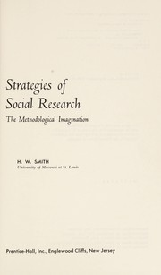 Cover of: Strategies in Social Research | Smith (undifferentiated)