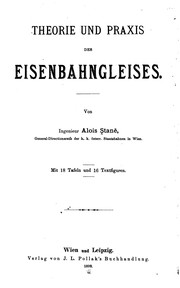 Cover of: Theorie und Praxis des Eisenbahngleises