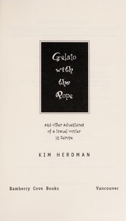 Cover of: Gelato with the Pope | Kim Herdman