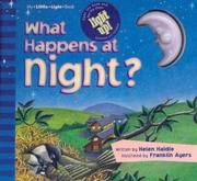 Cover of: What happens at night?