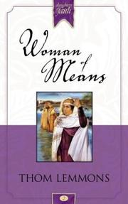 Cover of: Woman of means | Thom Lemmons