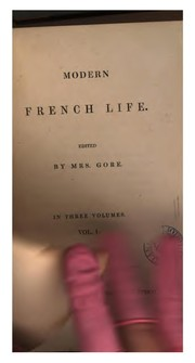 Cover of: Modern French life [tales from the Fr.] ed. by mrs. Gore |