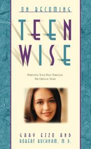 Cover of: On becoming teenwise