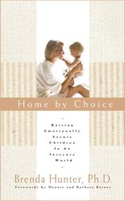 Cover of: Home by choice