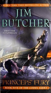 Cover of: Princeps' Fury | Jim Butcher