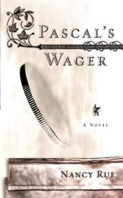 Cover of: Pascal's wager: a novel