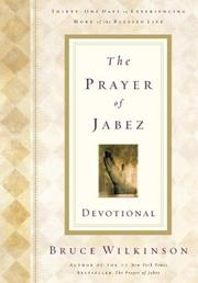 Cover of: The Prayer of Jabez Devotional: Breaking Through to the Blessed Life
