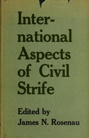 Cover of: International aspects of civil strife