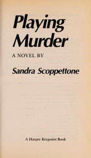 Cover of: Playing Murder