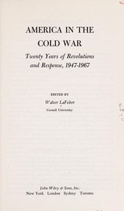 Cover of: America in the cold war