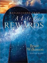 Cover of: Reflections from A Life God Rewards