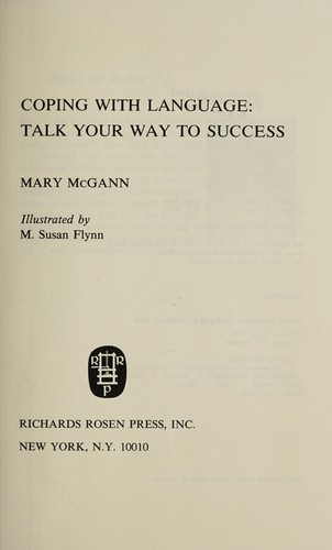 Coping with language by Mary McGann