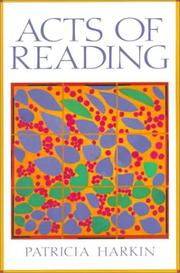 Cover of: Acts of reading