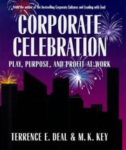 Cover of: Corporate celebration | Terrence E. Deal