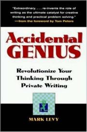 Cover of: Accidental genius | Levy, Mark
