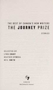 Cover of: The Journey prize stories | Lynn Coady