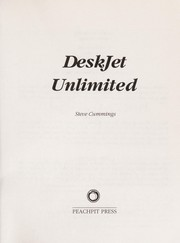 Cover of: DeskJet unlimited | Steve Cummings