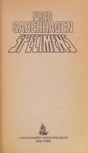 Cover of: Specimens | Fred Saberhagen