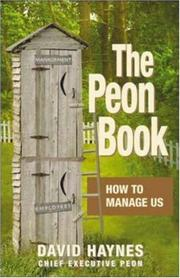 Cover of: The Peon Book | Dave Haynes