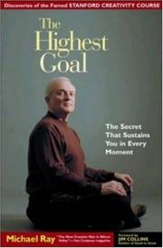 Cover of: The highest goal |