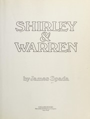 Cover of: Shirley and Warren | James Spada