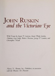 Cover of: John Ruskin and the Victorian eye