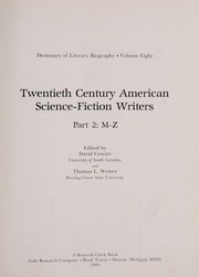 Cover of: Twentieth-century American science-fiction writers