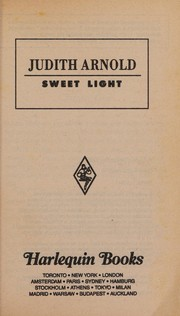 Cover of: Sweet Light | Judith Arnold