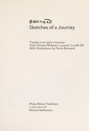 Cover of: Sketches of a journey
