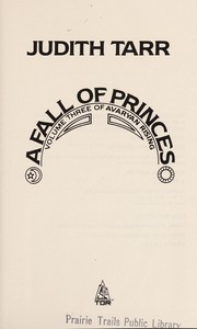 Cover of: A fall of princes | Judith Tarr
