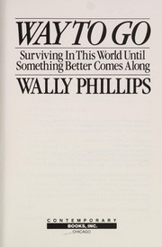 Cover of: Way to go | Wally Phillips