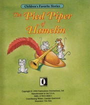 Cover of: The pied piper of Hamelin