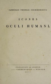 Cover of: Icones oculi humani