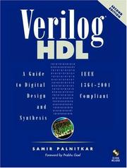 Cover of: Verilog HDL