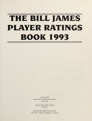 Cover of: The Bill James Player Ratings Book 1993 | Bill James