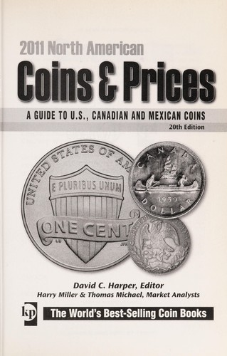 North American coins & prices 2011 by David C. Harper