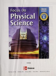 Cover of: Focus on Physical Science Grade 8, California Edition | Ph.D Juli Berwald
