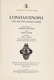 Cover of: Constantinople |