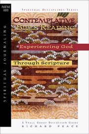 Cover of: Contemplative Bible Reading