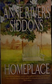 Cover of: Homeplace | Anne Rivers Siddons