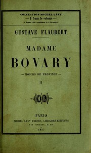 Cover of: Madame Bovary [2/2]