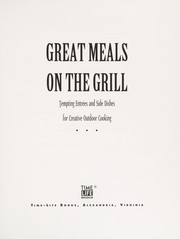 Cover of: Great Meals on the Grill