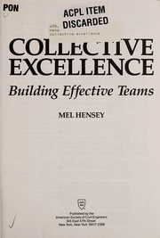 Cover of: Collective excellence | Mel Hensey