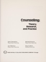 Cover of: Counselling | John J. Pietrofesa