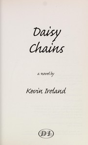 Cover of: Daisy chains | Kevin Ireland