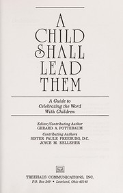 Cover of: A child shall lead them
