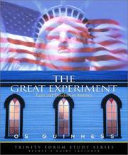 Cover of: The Great Experiment